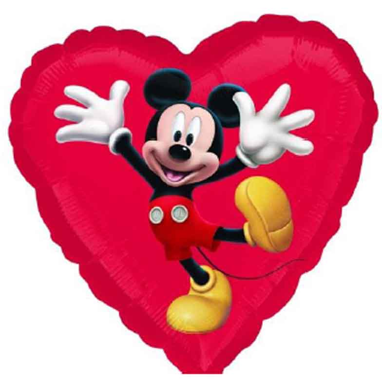 mickey mouse vendor foil 18 - Mickey Mouse Valentines